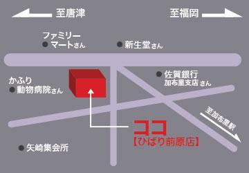 銀玉ブティックひばり前原店のフロアマップ1