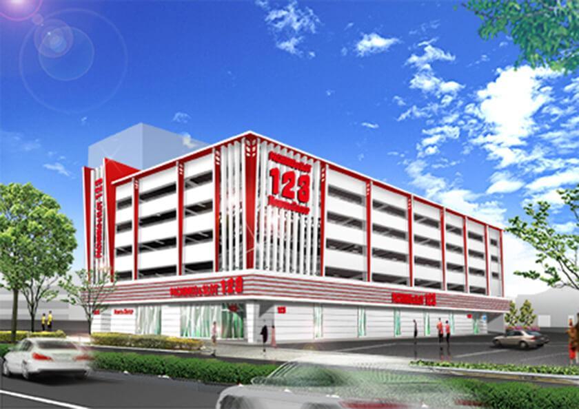 123南昭和店の店舗画像